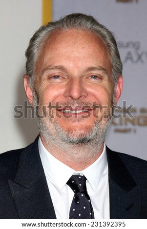 LOS ANGELES - NOV 17:  Francis Lawrence at the The Hunger Games: Mockingjay Part 1 Premiere at the Nokia Theater on November 17, 2014 in Los Angeles, CA - stock photo