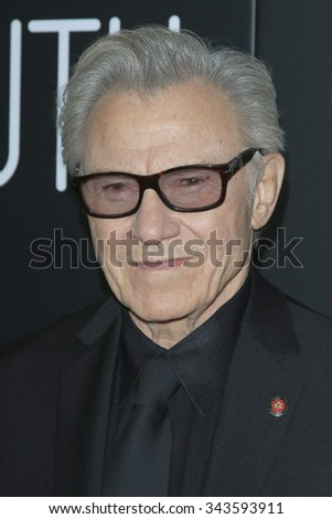 """LOS ANGELES - NOV 17:  Harvey Keitel at the """"Youth"""" LA Premiere at the Directors Guild of America on November 17, 2015 in Los Angeles, CA - stock photo"""