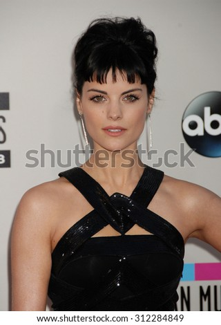 LOS ANGELES - NOV 24:  Jaime Alexander arrives at the 2013 American Music Awards Arrivals  on November 24, 2013 in Los Angeles, CA                 - stock photo