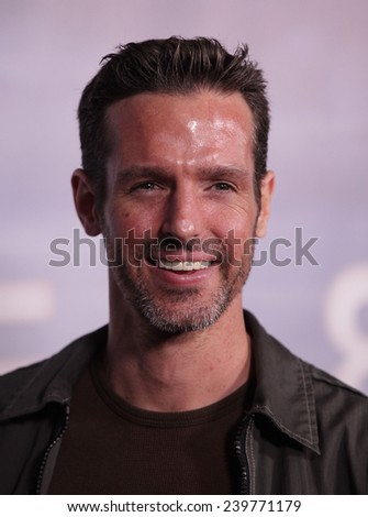 "LOS ANGELES - NOV 22:  JEFFREY PIERCE arrives to the ""Super 8"" DVD Launch  on November 22, 2011 in Beverly Hills, CA                 - stock photo"