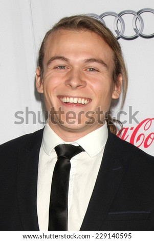"LOS ANGELES - NOV 8:  Jordan Christian Hearn at the ""Inherent Vice"" Screening at AFI Film Festival at the Egyptian Theater on November 8, 2014 in Los Angeles, CA"