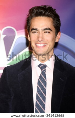 "LOS ANGELES - NOV 17:  Jose Moreno Brooks at the Press Junket For NBC's ""Telenovela"" And ""Superstore"" at the Universal Studios on November 17, 2015 in Los Angeles, CA - stock photo"
