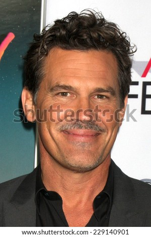 "LOS ANGELES - NOV 8:  Josh Brolin at the ""Inherent Vice"" Screening at AFI Film Festival at the Egyptian Theater on November 8, 2014 in Los Angeles, CA"