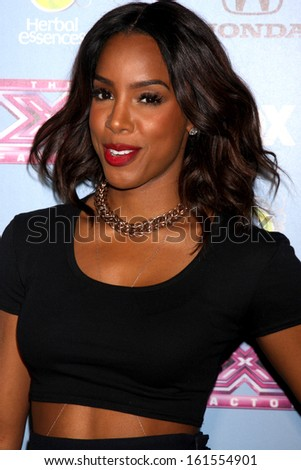 "LOS ANGELES - NOV 4:  Kelly Rowland at the 2013 ""X Factor"" Top 12 Party  at SLS Hotel on November 4, 2013 in Beverly Hills, CA - stock photo"