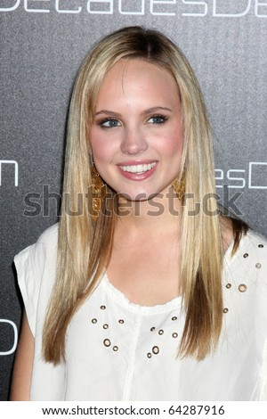 LOS ANGELES - NOV 2:  Meaghan Martin arrives at the Decades Denim Fashion Show at Private Home on November 2, 2010 in Beverly HIlls, CA