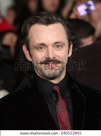 "LOS ANGELES - NOV 11:  Michael Sheen arrives to the ""The Twilight Saga: Breaking Dawn-Part 2"" World Premiere  on November 11, 2012 in Los Angeles, CA                 - stock photo"