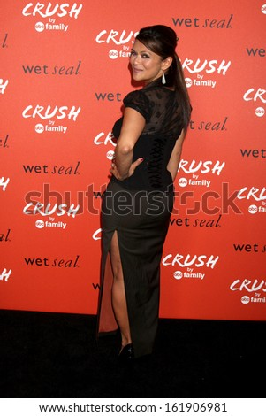 LOS ANGELES - NOV 6:  Nia Peeples at the CRUSH by ABC Family Clothing Line Launch at London Hotel on November 6, 2013 in West Hollywood, CA