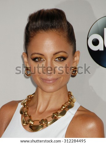 LOS ANGELES - NOV 24:  Nicole Richie arrives at the 2013 American Music Awards Arrivals  on November 24, 2013 in Los Angeles, CA                 - stock photo