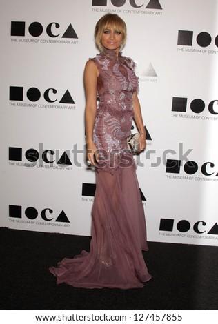 LOS ANGELES - NOV 12:  NICOLE RICHIE arriving to MOCA Annual Gala 2011  on November 12, 2011 in Los Angeles, CA - stock photo