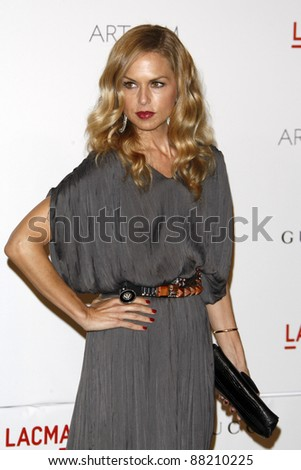 LOS ANGELES - NOV 5:  Rachel Zoe arrives at the LACMA Art + Film Gala at LA County Museum of Art on November 5, 2011 in Los Angeles, CA - stock photo
