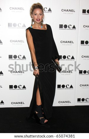 "LOS ANGELES - NOV 13:  Rachel Zoe  arrives at the MOCA's Annual Gala ""The Artist's Museum Happening"" 2010 at Museum of Contemporary Art on November 13, 2010 in Los Angeles, CA - stock photo"