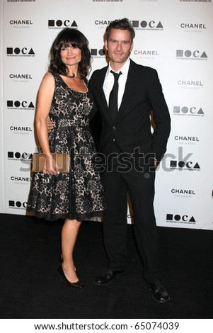 "LOS ANGELES - NOV 13:  Rosetta Getty; Balthazar Getty  arrive at the MOCA's Annual Gala ""The Artist's Museum Happening"" 2010 at Museum of Contemporary Art on November 13, 2010 in Los Angeles, CA"