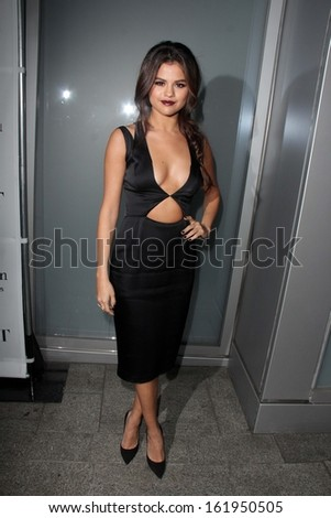 LOS ANGELES - NOV 7:  Selena Gomez at the Flaunt Magazine November Issue Party at Hakkasan on November 7, 2013 in Beverly Hills, CA - stock photo