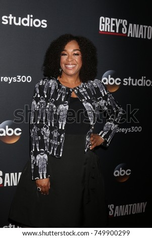 "LOS ANGELES - NOV 4:  Shonda Rhimes at the ""Grey's Anatomy"" 300th Episode Event at Tao on November 4, 2017 in Los Angeles, CA"