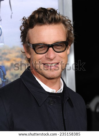 """LOS ANGELES - NOV 19:  Simon Baker arrives to the """"Wild"""" Los Angeles Premiere on November 19, 2014 in Beverly Hills, CA                 - stock photo"""