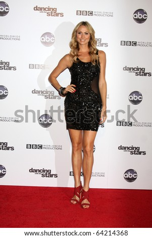 LOS ANGELES - NOV 1:  Stacy Keibler arrives at the Dancing With The Stars 200th Show Party at Boulevard3 on November 1, 2010 in Los Angeles, CA