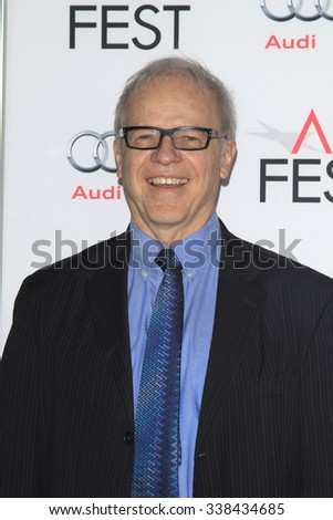 "LOS ANGELES - NOV 11:  Tim Gray at the Tribute to Charlotte Rampling and Tom Courtenay - Screening of ""45 Years"" at the TCL Chinese Theater on November 11, 2015 in Los Angeles, CA - stock photo"