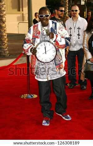 LOS ANGELES - NOVEMBER 21: Flavor Flav at the 34th Annual American Music Awards at Shrine Auditorium November 21, 2006 in Los Angeles, CA