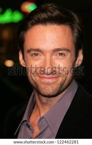 "LOS ANGELES - NOVEMBER 11: Hugh Jackman at the United States Premiere of ""The Fountain"" at Grauman's Chinese Theatre on November 11, 2006 in Hollywood, CA. - stock photo"