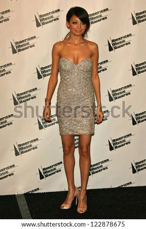 LOS ANGELES - NOVEMBER 21: Nicole Richie in the press room at the 34th Annual American Music Awards at Shrine Auditorium on November 21, 2006 in Los Angeles, CA. - stock photo