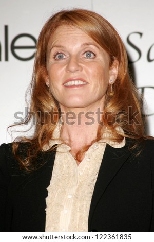 "LOS ANGELES - NOVEMBER 3: Sarah Ferguson at the ""Sarah Ferguson for K&G Creations"" jewelry launch at Bloomingdale's on November 3, 2006 in Los Angeles, CA."