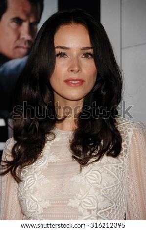 LOS ANGELES - OCT 4:  Abigail Spencer  arrives at the Gangster Squad World Premiere  on January 7, 2013 in Hollywood, CA              - stock photo