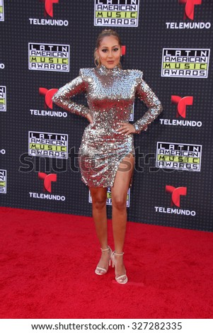 LOS ANGELES - OCT 8:  Adrienne Bailon at the Latin American Music Awards at the Dolby Theater on October 8, 2015 in Los Angeles, CA - stock photo