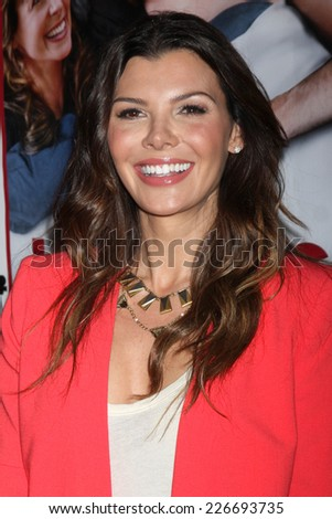 "LOS ANGELES - OCT 27:  Ali Landry at the ""Hit By Lightning"" - Los Angeles Premiere at the ArcLight Hollywood Theaters on October 27, 2014 in Los Angeles, CA - stock photo"