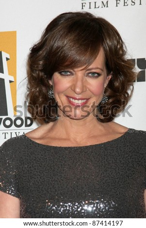 LOS ANGELES - OCT 24:  Allison Janney arriving at the 15th Annual Hollywood Film Awards Gala at Beverly Hilton Hotel on October 24, 2011 in Beverly Hllls, CA