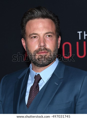"LOS ANGELES - OCT 10:  Ben Affleck arrives to ""The Accountant"" Los Angeles Premiere on October 10, 2016 in Hollywood, CA"