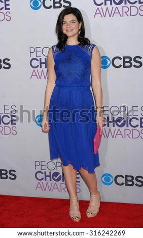 LOS ANGELES - OCT 4:  Casey Wilson arrives at the 2013 Peoples Choice Awards  on January 9, 2013 in Los Angeles, CA
