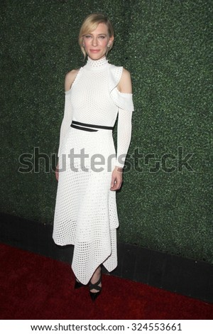 """LOS ANGELES - OCT 5:  Cate Blanchett at the """"Truth"""" Industry Screening at the Samuel Goldwyn Theater on October 5, 2015 in Beverly Hills, CA - stock photo"""