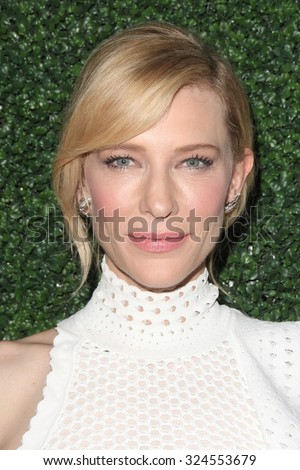 "LOS ANGELES - OCT 5:  Cate Blanchett at the ""Truth"" Industry Screening at the Samuel Goldwyn Theater on October 5, 2015 in Beverly Hills, CA - stock photo"