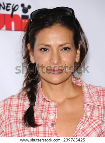 """LOS ANGELES - OCT 18:  Constance Marie arrives to the """"Jake and the Never Land Pirates: Battle for the Book"""" Los Angeles Premiere on October 18, 2014 in Burbank, CA                 - stock photo"""