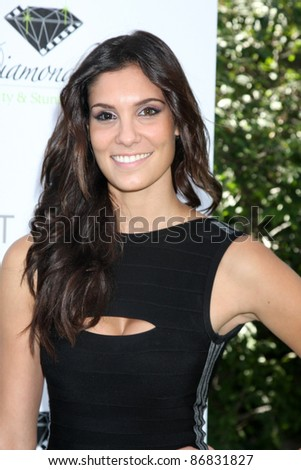 LOS ANGELES - OCT 16:  Daniela Ruah arriving at the 2011 Stuntwomen Awards at the Skirball Cultural Center on October 16, 2011 in Los Angeles, CA