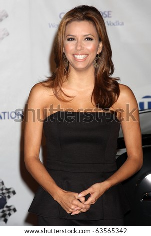 "LOS ANGELES - OCT 22:  Eva Longoria-Parker arrives at the ""Rally for Kids with Cancer"" Kick-off Party 2010 at Roosevelt Hotel on October 22, 2010 in Los Angeles, CA - stock photo"