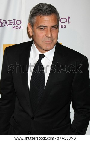 LOS ANGELES - OCT 24:  George Clooney arriving at the 15th Annual Hollywood Film Awards Gala at Beverly Hilton Hotel on October 24, 2011 in Beverly Hllls, CA