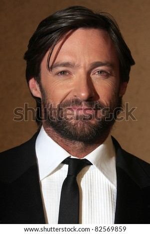 "LOS ANGELES - OCT 20: Hugh Jackman at the third annual ""A Fine Romance""  at Sony Studios in Culver City, Los Angeles, California on October 20, 2007 - stock photo"