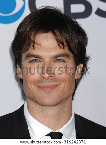 LOS ANGELES - OCT 4:  Ian Somerhalder arrives at the 2013 Peoples Choice Awards  on January 9, 2013 in Los Angeles, CA