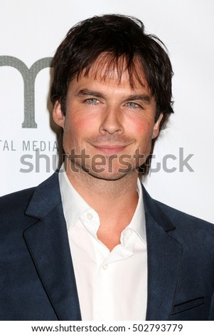 LOS ANGELES - OCT 22:  Ian Somerhalder at the 26th Annual Environmental Media Awards at Warner Brothers Studio on October 22, 2016 in Burbank, CA
