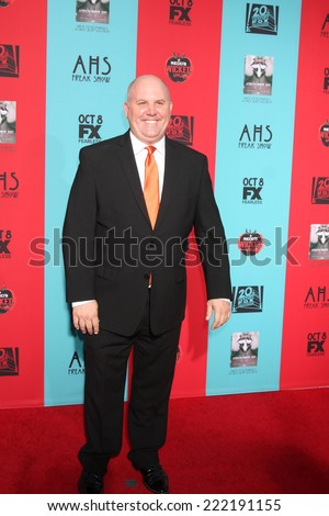 "LOS ANGELES - OCT 5:  James Dumont at the ""American Horror Story: Freak Show"" Premiere Event at TCL Chinese Theater on October 5, 2014 in Los Angeles, CA - stock photo"