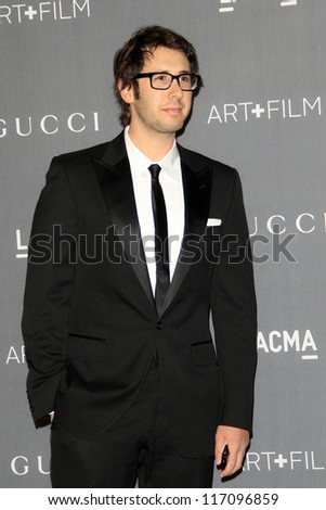 LOS ANGELES - OCT 27:  Josh Groban arrives at the LACMA 2012 Art + Film Gala at Los Angeles County Musem of Art on October 27, 2012 in Los Angeles, CA
