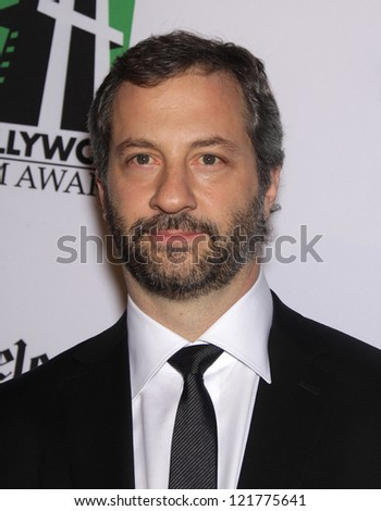 LOS ANGELES - OCT 22:  Judd Apatow arrives to Hollywood Film Awards Gala 2012  on October 22, 2012 in Beverly Hills, CA - stock photo