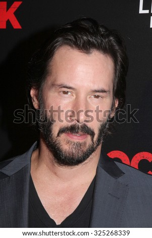 "LOS ANGELES - OCT 7:  Keanu Reeves at the ""Knock Knock"" Los Angeles Premiere at the TCL Chinese 6 Theaters on October 7, 2015 in Los Angeles, CA"