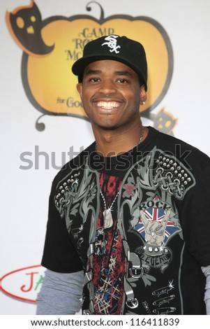 LOS ANGELES - OCT 21: Larenz Tate at the Camp Ronald McDonald for Good Times 20th Annual Halloween Carnival at the Universal Studios Backlot on October 21, 2012 in Los Angeles, California - stock photo