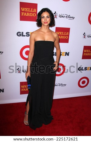LOS ANGELES - OCT 17:  Morena Baccarin at the 10th Annual GLSEN Respect Awards at Regent Beverly Wilshire on October 17, 2014 in Beverly Hills, CA - stock photo