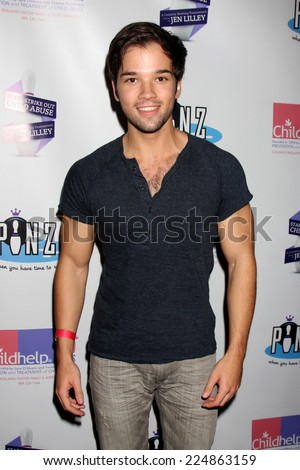 nathan kress muscles. los angeles - oct 19: nathan kress at the first annual stars strike out child muscles