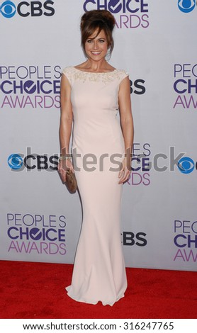 LOS ANGELES - OCT 4:  Nikki DeLoach arrives at the 2013 Peoples Choice Awards  on January 9, 2013 in Los Angeles, CA