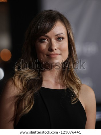 "LOS ANGELES - OCT 20:  Olivia Wilde arriving to ""In Time"" Los Angeles Premiere  on October 20, 2011 in Westwood, CA"