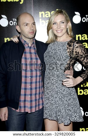 "LOS ANGELES - OCT 19:  Paul Scheer, June Diane Raphael at the ""Nasty Baby"" Premiere at the ArcLight Hollywood Theaters on October 19, 2015 in Los Angeles, CA"